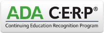 ADA CERP Continuing Education Recognition Program